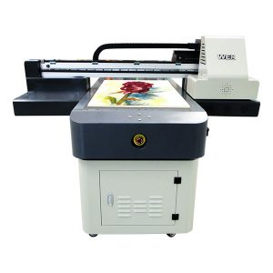 a1 uv dx8 flatbed printer met vernis