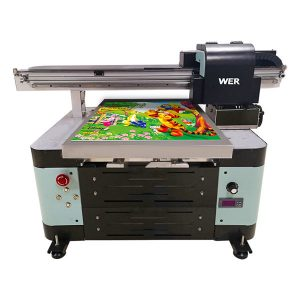 a2 digitale flatbed kleine uv-printer met flatbed