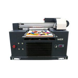 hete verkoop a3 dx5 hoofd digitaal t-shirt uv flatbed drukmachine