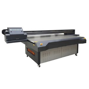 4x8 voeten uv led flatbed printer met konica & ricoh printkop