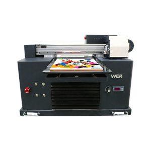 a3-formaat volledig automatisch 4 kleuren dx5 printerkop mini uv-printer dtg uv flatbe