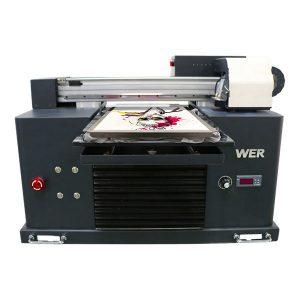 Acht kleuren goedkope prijs 3d digitale dtg t-shirt printer voor kleding, textiel flatbed printers te koop