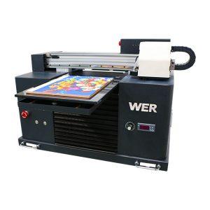 a3 uv printer, geavanceerde kleine automatische uv flatbed printer