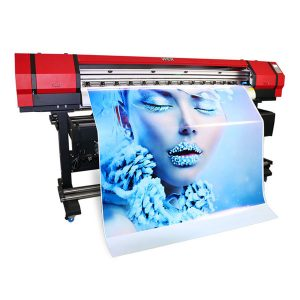 1.6m outdoor indoor eco solvent kleine pvc vinyl printer