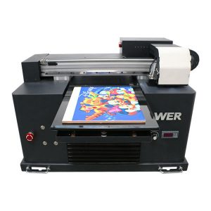 2019 nieuwe dx5 hoofd flatbed printer a3 formaat uv led-drukmachine