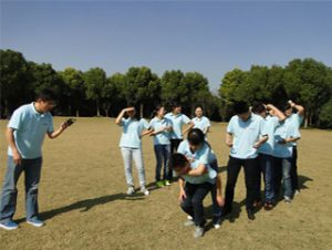 Activiteiten in Gucun Park, herfst 2014 3