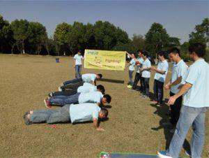 Activiteiten in Gucun Park, herfst 2014 4