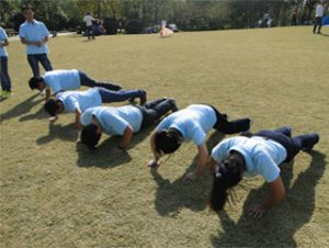 Activiteiten in Gucun Park, herfst 2014 5