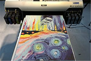 Canvasdoek uit A2 UV-printer WER-EH4880UV