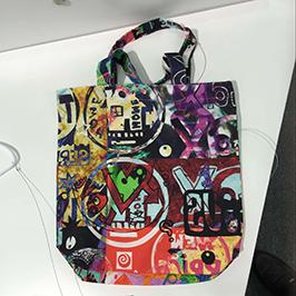 Non-woven bag printing sample door A1 digital textile printer WER-EP6090T