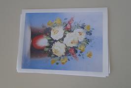 Olie Canvas gedrukt door eco-solvent printer WER-ES2502 van 2,5 meter (8 voet)
