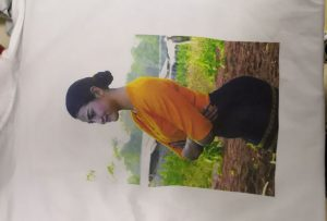 T-shirts afdrukvoorbeeld voor Burma-klant van WER-EP6090T printer