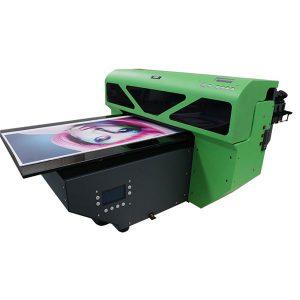 a2 klein formaat uv flatbed printer met 1 stks dx5 printkop